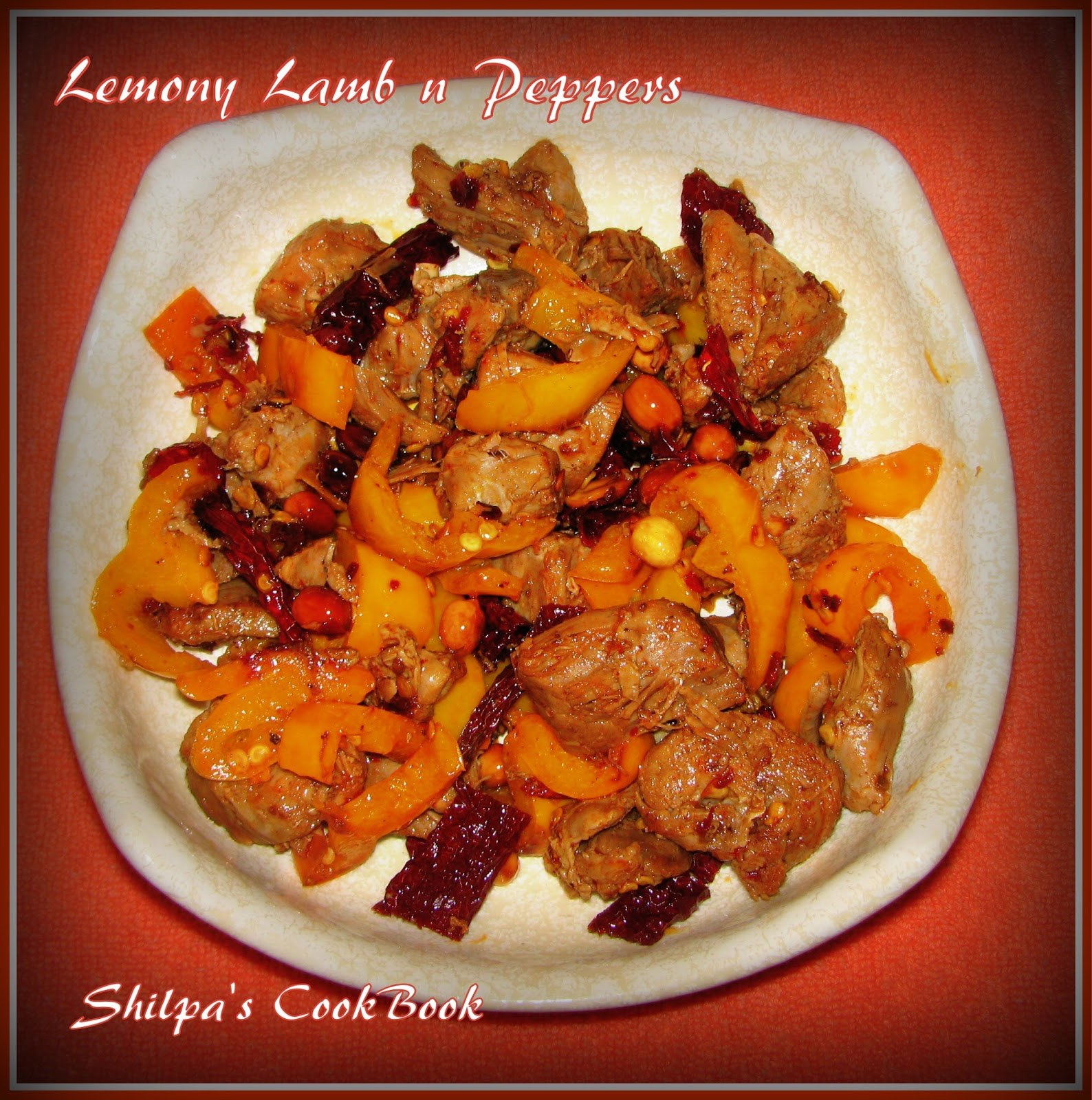 Cook book lemony lamb n peppers for Asian cuisine books