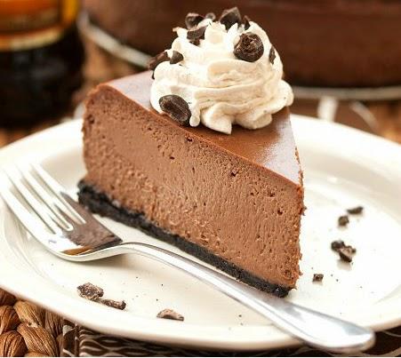 Chocolate Cappuccino Cheesecake