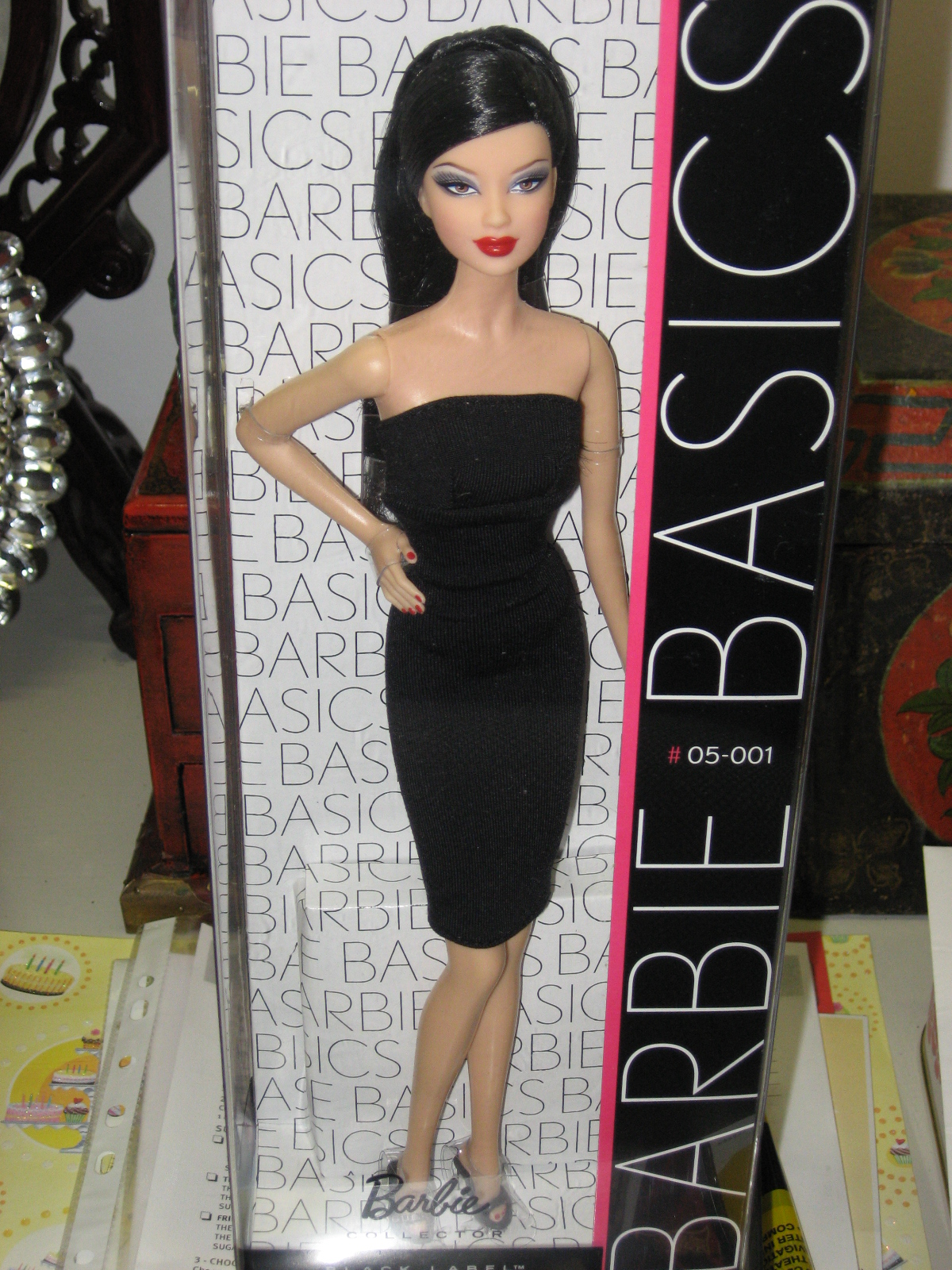 I Wasnt A Huge Fan Of The Basics Collection But Mattel Had So Kindly Modeled This Barbie After Me Couldnt Resist Buying Her