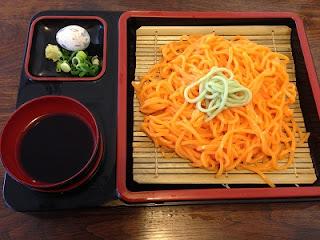 Kaki Udon ; persimmon flavored Udon