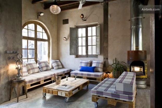 home garden 70 nouvelles id es pour recycler des palettes. Black Bedroom Furniture Sets. Home Design Ideas