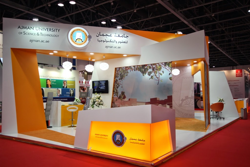 Exhibition Stand Design And Build Dubai : A creative angle from mind spirit ajman university