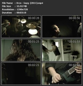 Video Clips Korzus - I Am Your God 2011 (Brazil Thrash Metal)