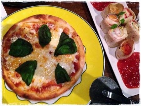 Pizza Margarita Arabian Rock