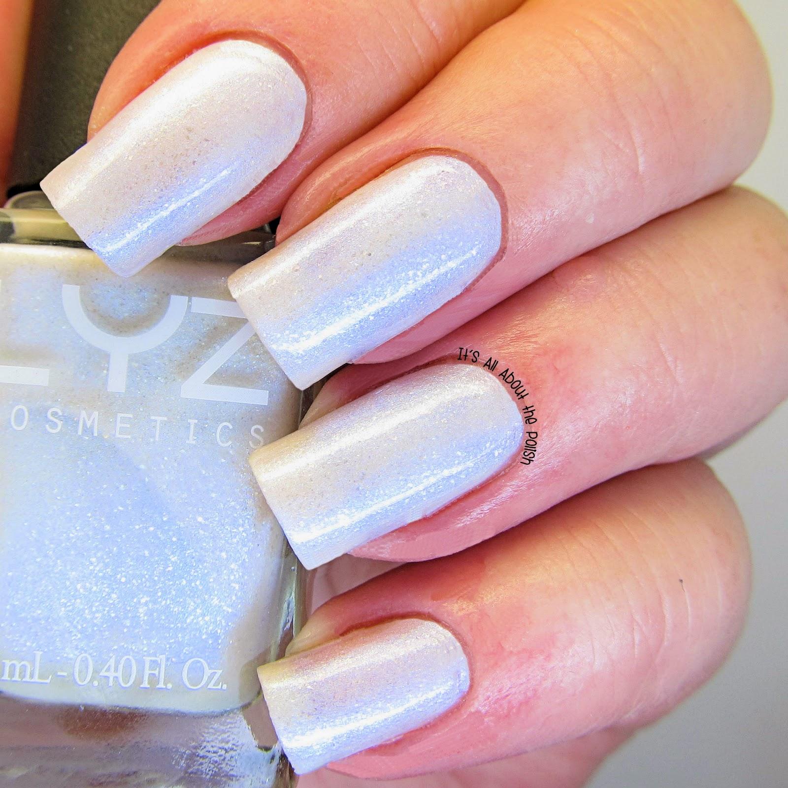 Pearl Nail Polish: It's All About The Polish: Review Liz Cosmetics Nail Polish