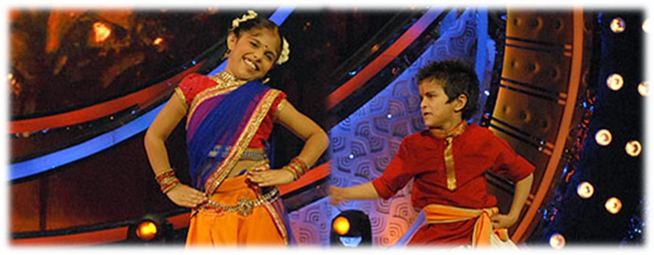 Sachin and Advika performing together in DID Li'l Masters