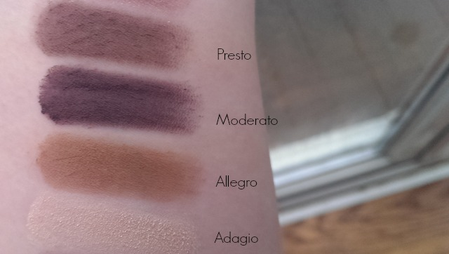 arm swatches of shadows