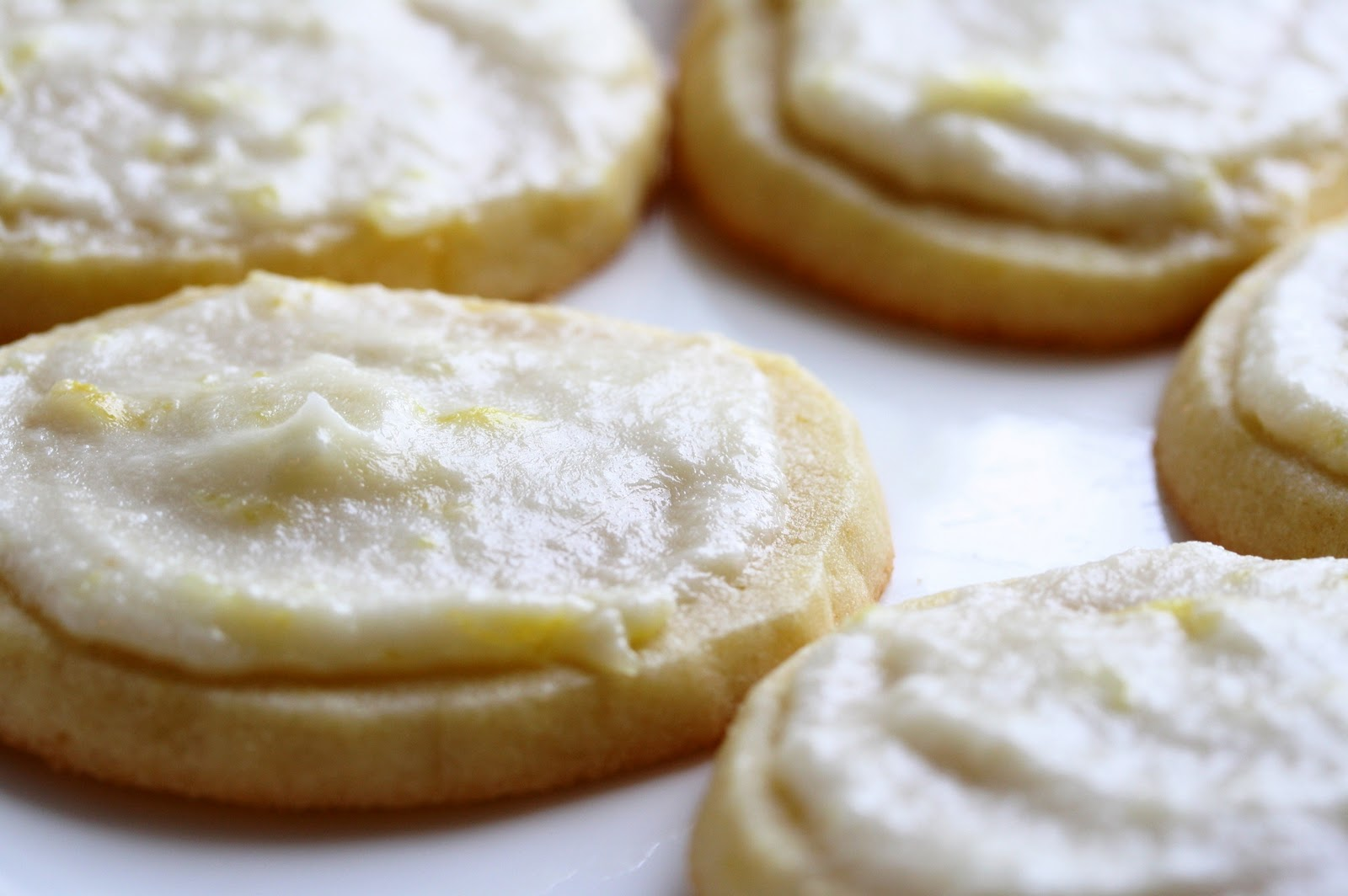 Lemon Icebox Cookies - Saving Room for Dessert