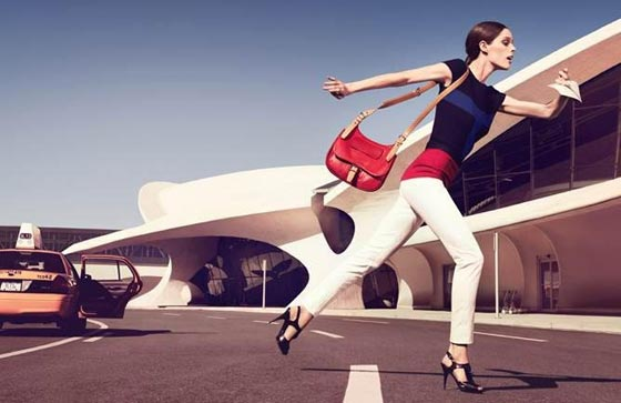 Longchamp spring 2013 ad campaign