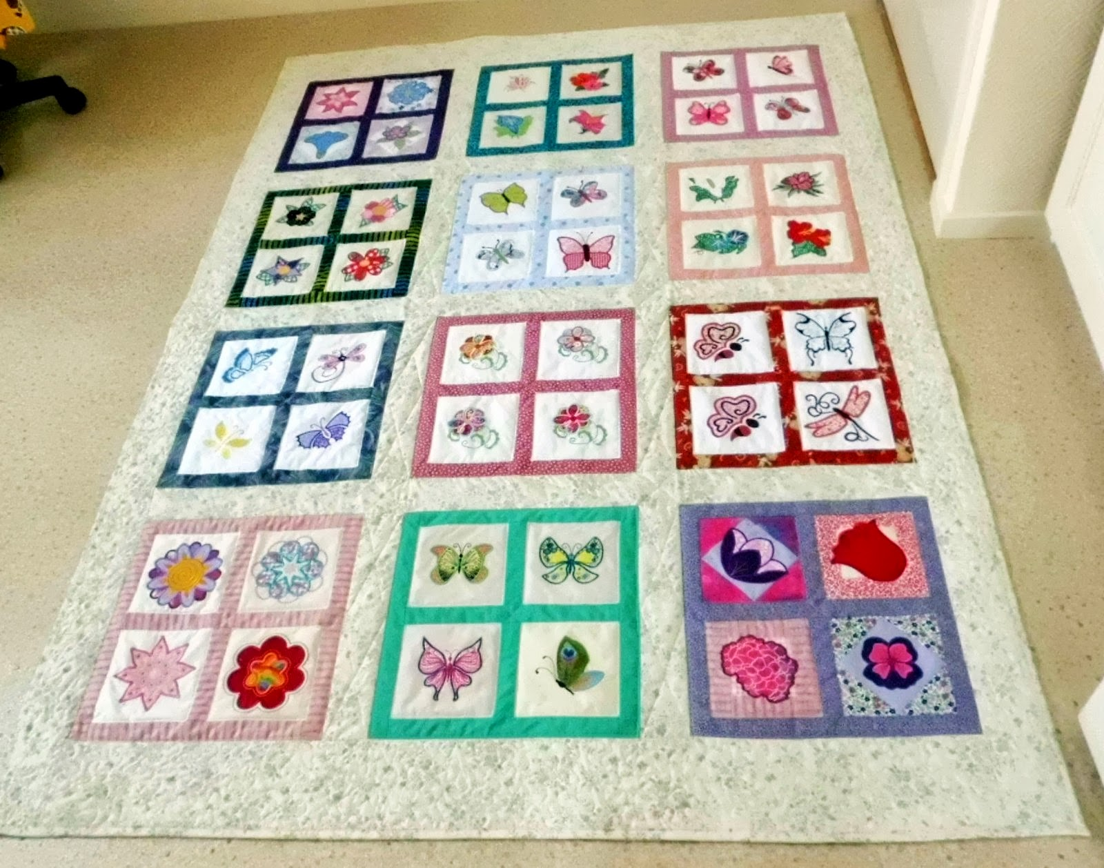 Quilt borduurforum weblog van annie for Quilt maken met naaimachine