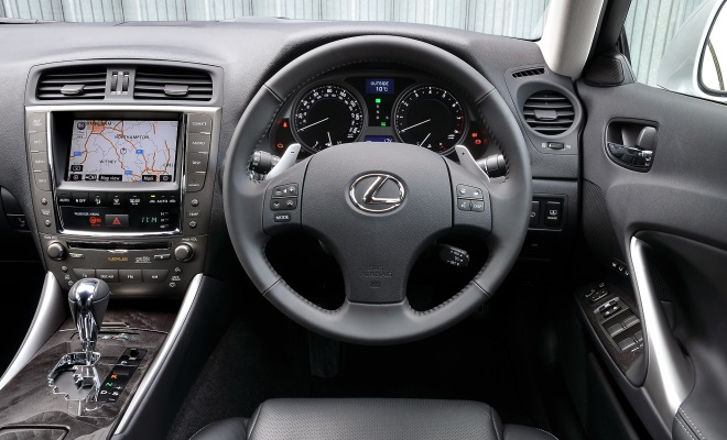 2011 Lexus IS 200d cockpit