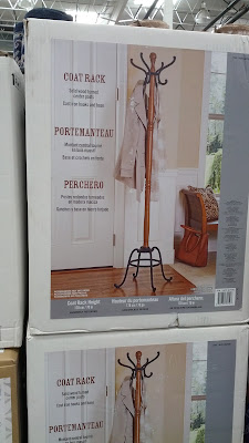 Hang your jackets and coats on the Cast Iron and Wood Coat Rack