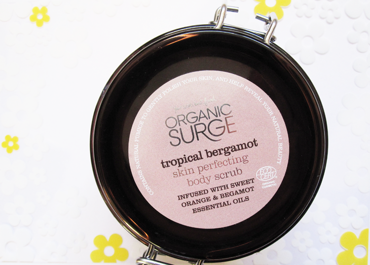 Organic Surge Tropical Bergamot Skin Perfecting Body Scrub review