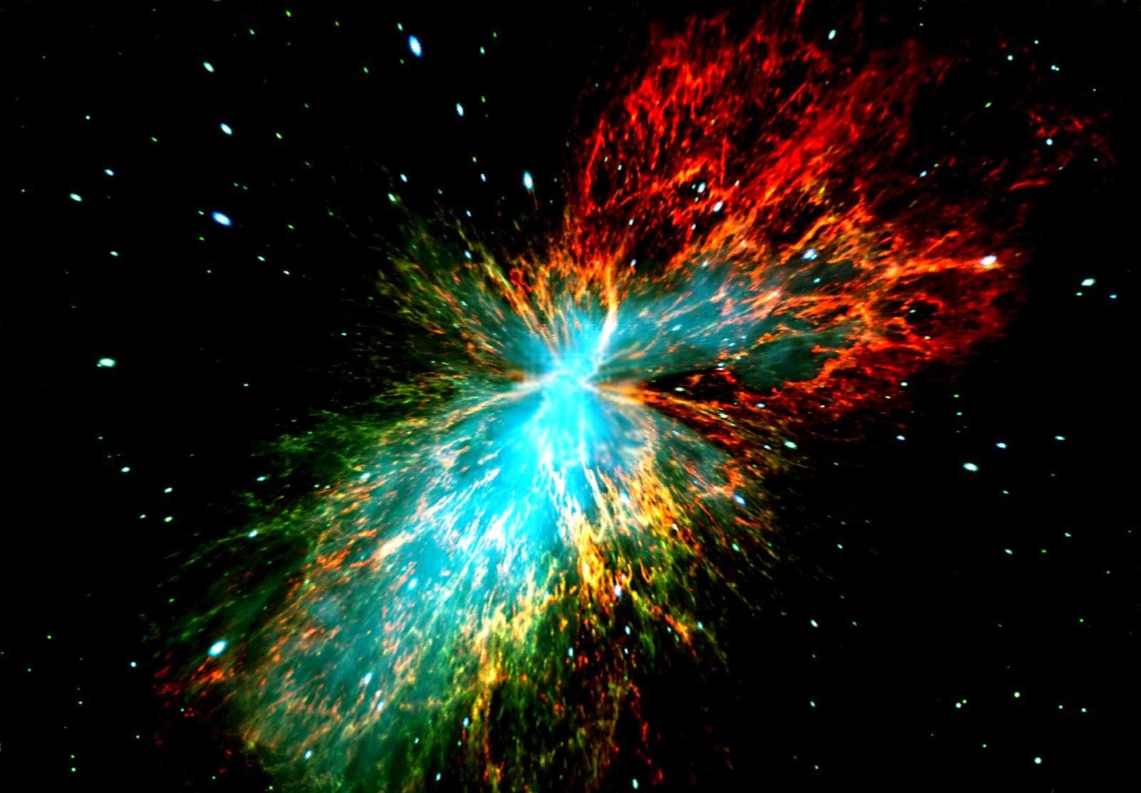 The Big Bang explosion