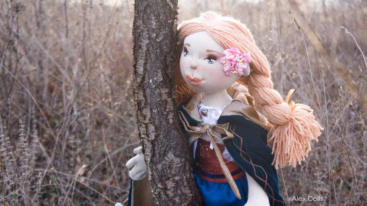 храбрая сердцем, авторская кукла, игровая кукла, для девочки Алекс кукол