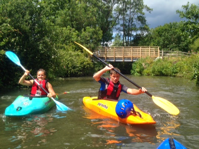 Kayaking on the River Ouse with Martlet Kayak Club Brighton