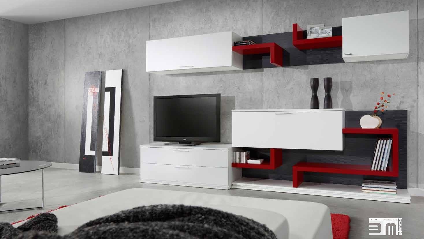Centros tv he empotrados melamina centros tv y otros for Diseno de muebles para equipos de sonido