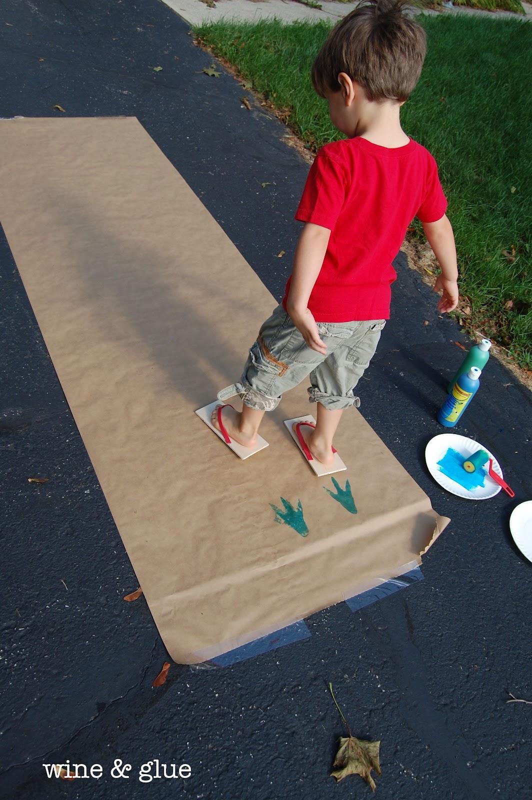 Dinosaur Track Flip Flops The Melrose Family