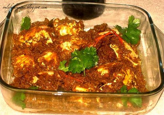 spicy crab chettinad