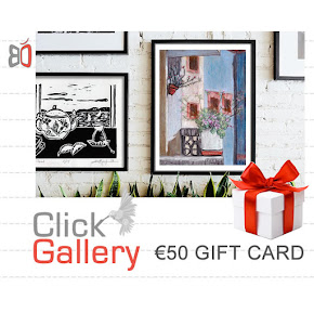 Give the GIFT CARDS to Art lovers!