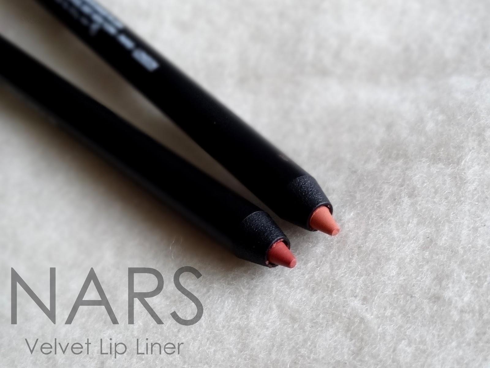 NARS Velvet Lip Liners Waimea and Patong Beach