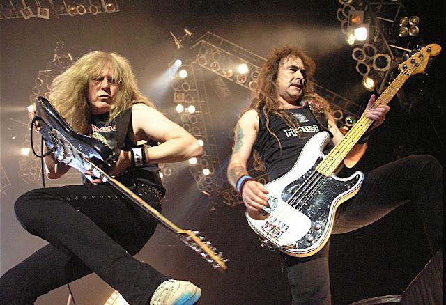 Iron Maiden, rock concert, heavy metal