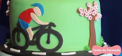 Tarta de Triathlon: cicilismo