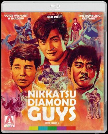 Nikkatsu Diamond Guys Volume 1 Blu-ray cover