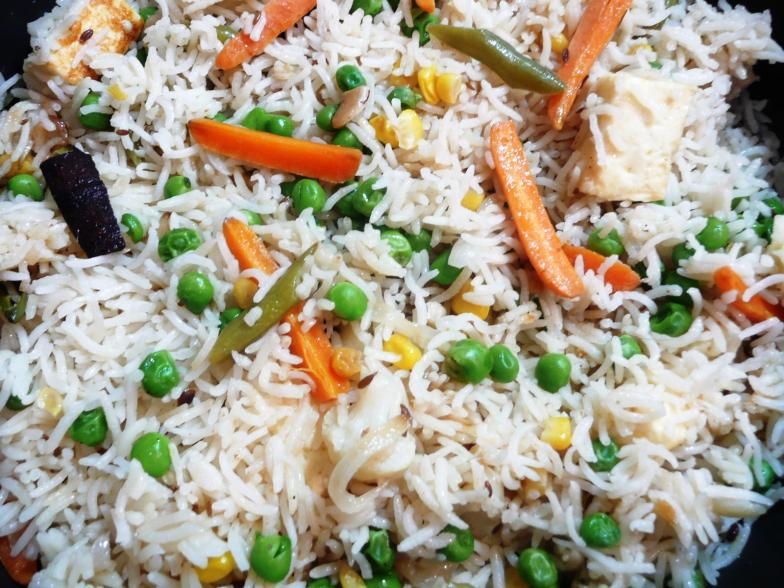 How to cook Veg Pulao? ~ Shimafood: Easy cooking recipes