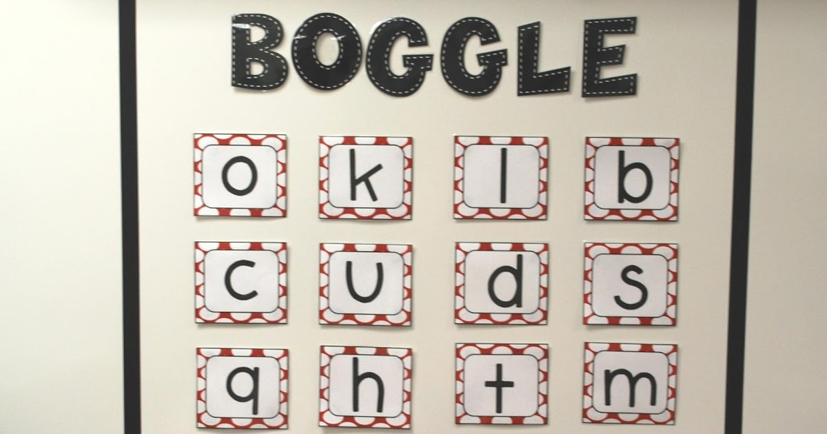 graphic regarding Boggle Printable named know-how rocks. actually.: Polka Dot Letters