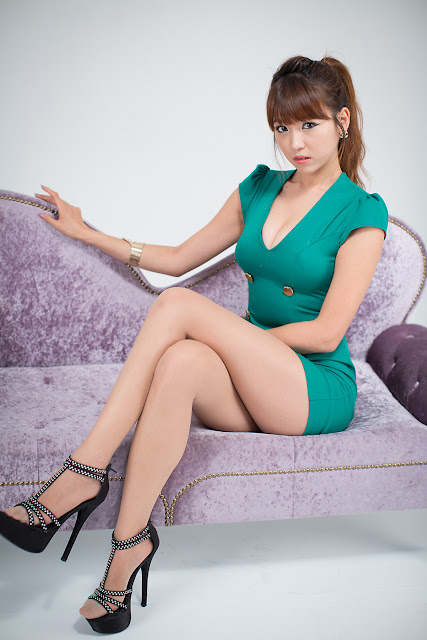 3 Sexy Office Lady - Lee Eun Hye-Very cute asian girl - girlcute4u.blogspot.com