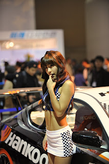 Park Si yeon Korean Actress In 2009 Seoul Motor Show 1