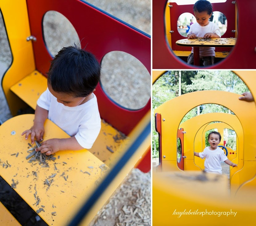playground family portraits photo