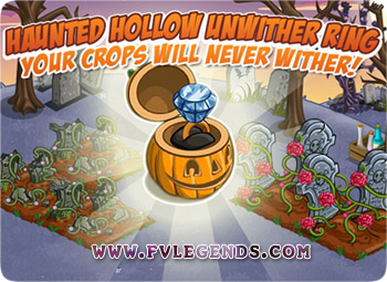 FarmVille Haunted Hollow Farm Unwither Rings Loading Screen