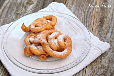 apple cider funnel cakes