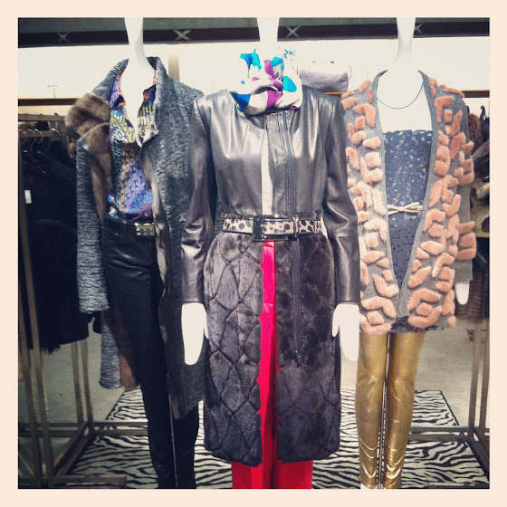 Fashion Junkie styling of Brandon Sun's looks for Neiman Marcus