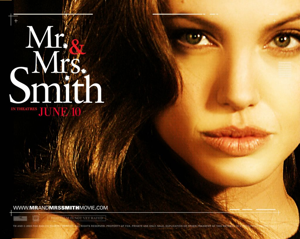 Wallpaper Wallpaper Mr And Mrs Smith