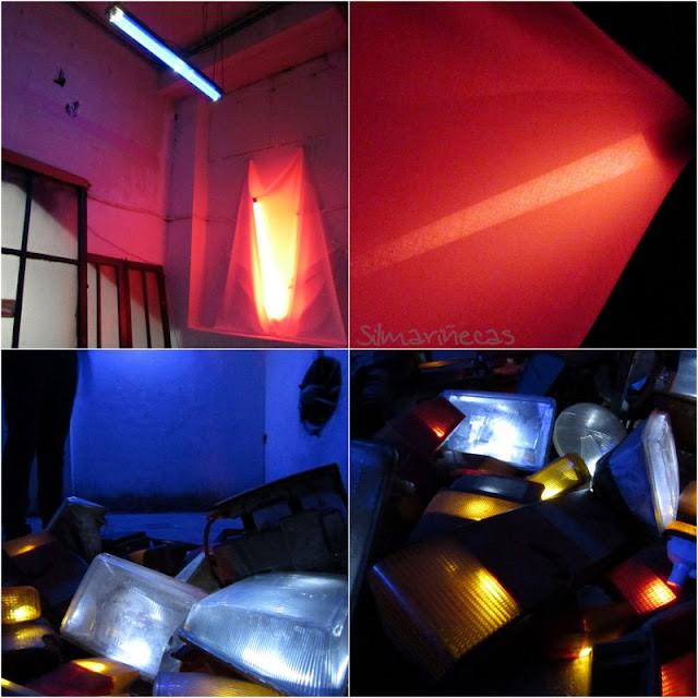 Specific Light Instalations - kaleartean basauri 2015