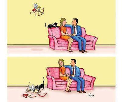Funny Cartoon Cupid