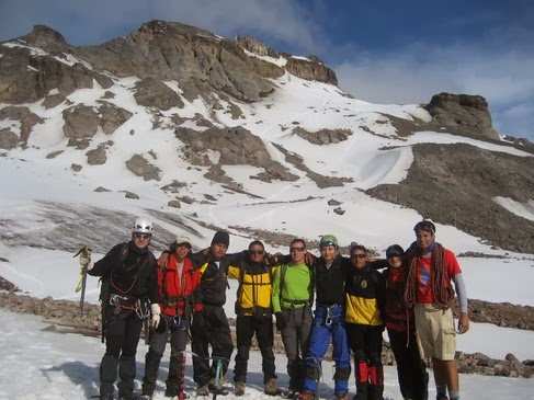 Escalada en el Chimborazo