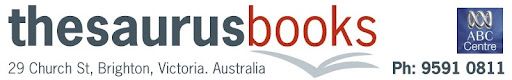 Thesaurus Books and ABC Centre Blog
