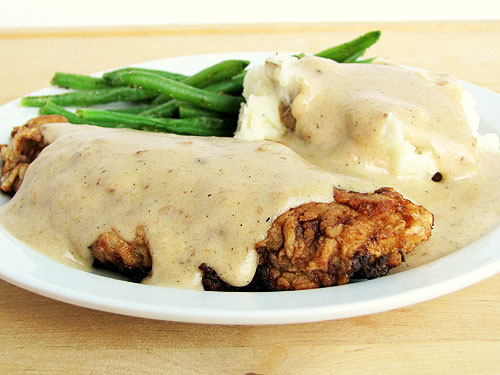 Cooking with Directions: Chicken Fried Steak with Country Gravy