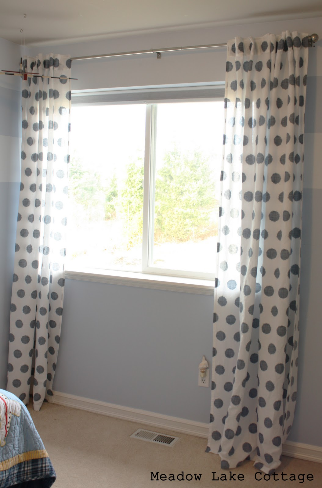 Gray and white polka dot curtains - Ikea Curtains Polka Dots Ikea Curtains Blue Ikea Curtains I Want This Is The Blue For My
