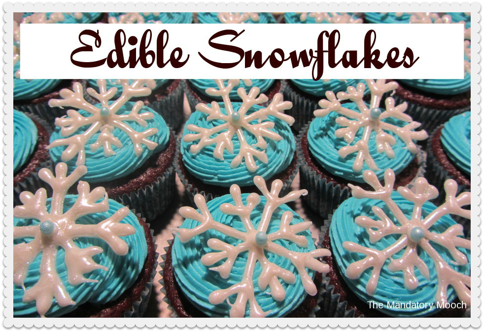 how to make edible snow