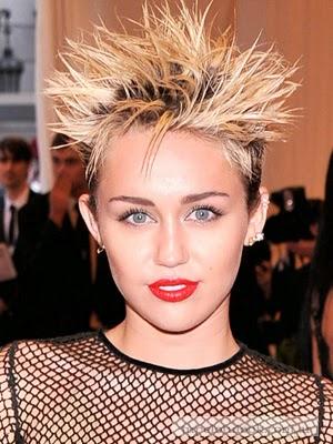cortes de pelo 2014 neo punk Miley Cyrus