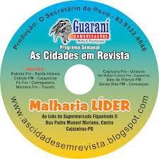 ESTE  É UM DOS ANTIGOS CD DO NOSSO PROGRAMA  AS CIDADES EM REVISTA
