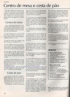 COMO FAZER CESTO DE PÃO E CENTRO DE MESA EM CESTARIA DE JORNAL
