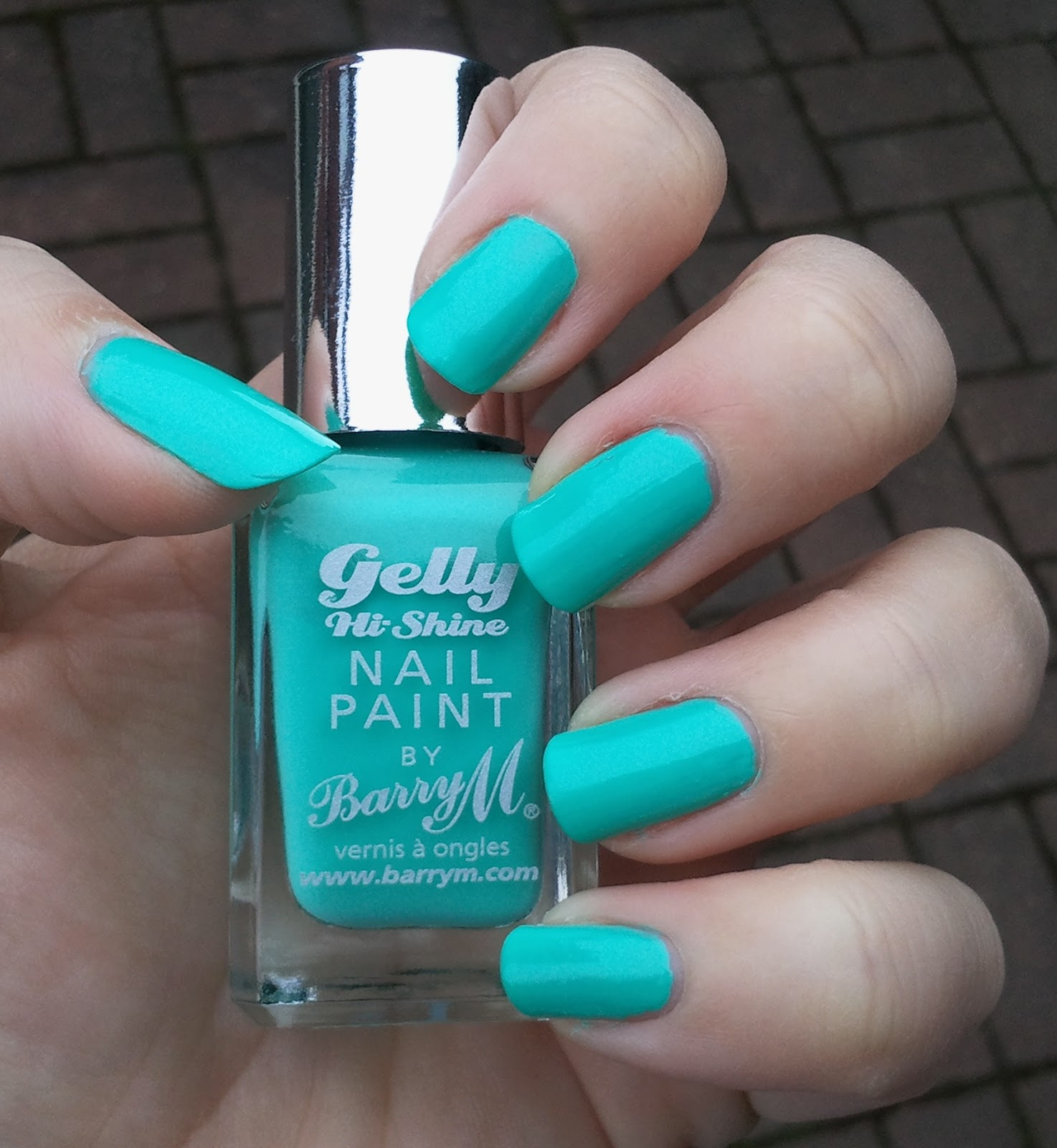 Finger Nail Paint: Amelia's Allsorts: Barry M Gelly Nail Paint 'Greenberry