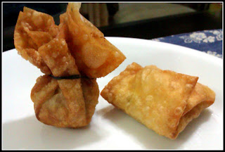 Kung Pao Chicken Wontons