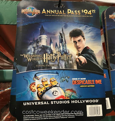 Save up to 30% with a 2016 Universal Studios Hollywood Season Pass at Costco